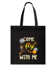 Cat come fly Tote Bag thumbnail
