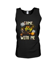 Cat come fly Unisex Tank thumbnail