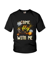 Cat come fly Youth T-Shirt thumbnail