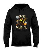 Cat come fly Hooded Sweatshirt thumbnail
