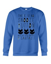 Cat Snooze Button 2611 Crewneck Sweatshirt thumbnail