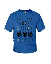 Cat Snooze Button 2611 Youth T-Shirt thumbnail