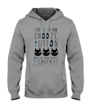 Cat Snooze Button 2611 Hooded Sweatshirt thumbnail