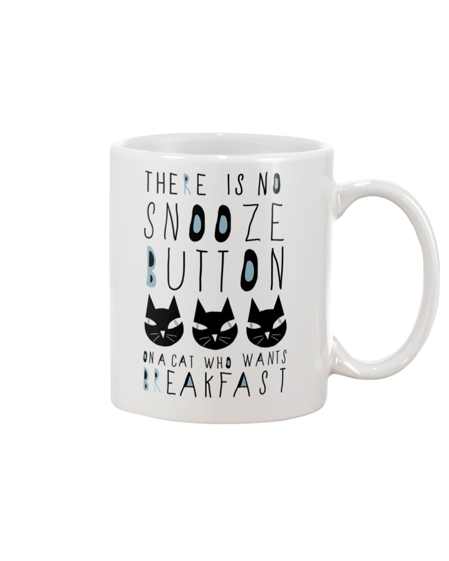 Cat Snooze Button 2611 Mug