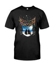 Cat head couple 1610 Classic T-Shirt thumbnail