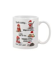 Soft Kitty Warm Kitty Mug front
