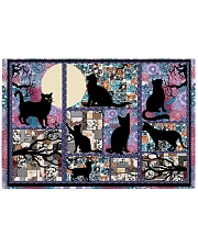 Black Cat Pattern  Rectangle Cutting Board thumbnail