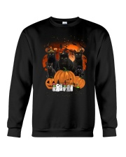 ZEUS - Black Cat Great Halloween - 0709 - A5 Crewneck Sweatshirt thumbnail