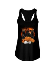 ZEUS - Black Cat Great Halloween - 0709 - A5 Ladies Flowy Tank thumbnail
