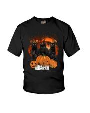 ZEUS - Black Cat Great Halloween - 0709 - A5 Youth T-Shirt thumbnail