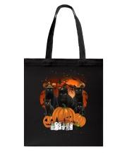 ZEUS - Black Cat Great Halloween - 0709 - A5 Tote Bag thumbnail