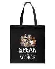 Rescue and voice Tote Bag thumbnail