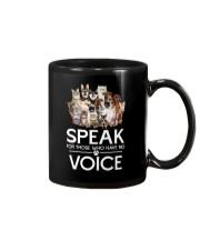 Rescue and voice Mug thumbnail