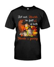 Thanks Giving Cats Classic T-Shirt thumbnail