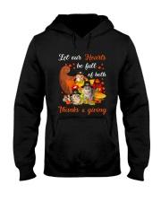 Thanks Giving Cats Hooded Sweatshirt thumbnail