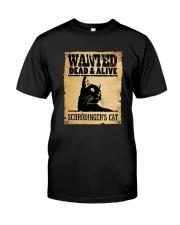 Schrodinger s Cat 150319 Classic T-Shirt front