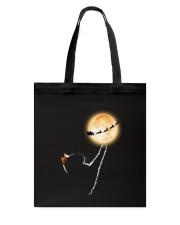 Cat moon and Santa Tote Bag thumbnail