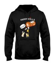 Cat happy pills Hooded Sweatshirt thumbnail