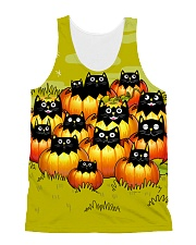 More Black Cats All-over Unisex Tank front