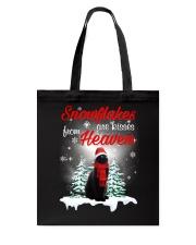Kisses From Heaven Black Cat Tote Bag thumbnail