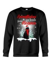 Kisses From Heaven Black Cat Crewneck Sweatshirt thumbnail