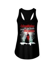 Kisses From Heaven Black Cat Ladies Flowy Tank thumbnail