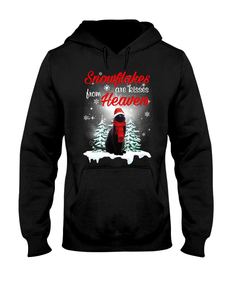 Kisses From Heaven Black Cat Hooded Sweatshirt
