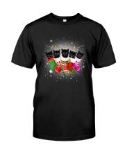 Black cat socks 111 Classic T-Shirt thumbnail