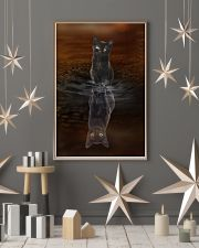 Black Cat Believe 11x17 Poster lifestyle-holiday-poster-1