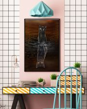 Black Cat Believe 11x17 Poster lifestyle-poster-6