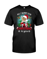 Cat for Christmas Classic T-Shirt thumbnail