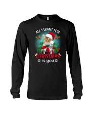 Cat for Christmas Long Sleeve Tee thumbnail