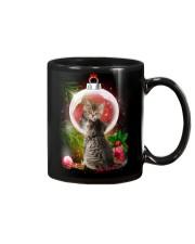 Cat Looking Ornament Christmas Mug thumbnail