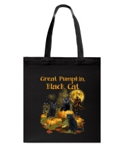 THEIA Black Cat Pumpkin 2307 Tote Bag thumbnail