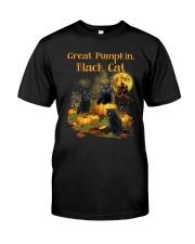 THEIA Black Cat Pumpkin 2307 Classic T-Shirt front