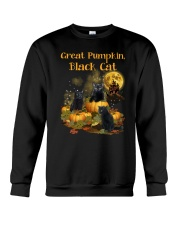 THEIA Black Cat Pumpkin 2307 Crewneck Sweatshirt thumbnail