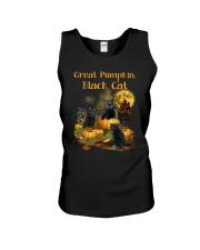 THEIA Black Cat Pumpkin 2307 Unisex Tank thumbnail