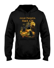THEIA Black Cat Pumpkin 2307 Hooded Sweatshirt thumbnail