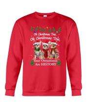 Bengal Cat Ornaments Tree 2210  Crewneck Sweatshirt front