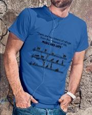 Black Cat Music Classic T-Shirt lifestyle-mens-crewneck-front-4