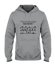 Black Cat Music Hooded Sweatshirt thumbnail