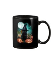 Black cat and moon Halloween Mug thumbnail