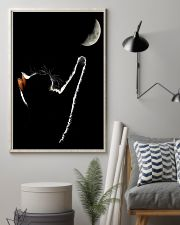 Cat Chasing The Moon 11x17 Poster lifestyle-poster-1