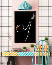 Cat Chasing The Moon 11x17 Poster lifestyle-poster-6
