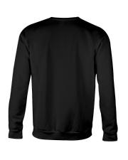 Black Cat Riding Sleigh Crewneck Sweatshirt back