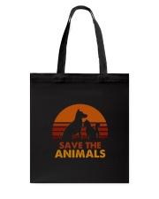 Save the Animals Tote Bag thumbnail