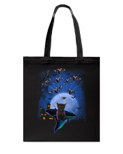 Cat with bats 2007 Tote Bag thumbnail