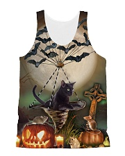 Blackcat Flying Batwing  All-over Unisex Tank front