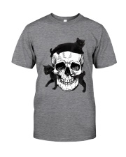 Cat And Skull Classic T-Shirt front