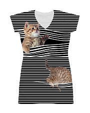 Cat Striped All-over Dress thumbnail